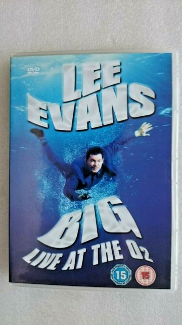 Lee Evens - Big - Live at the O2 (DVD 2008)